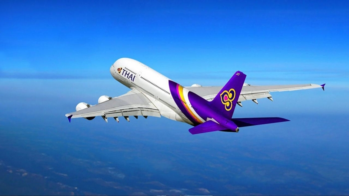 All your smile Is the happiness of Thai Airways service